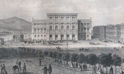 Historical building of the Hungarian Academy of Sciences